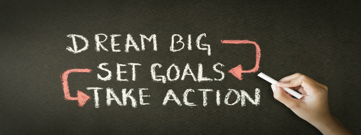 dreambig set goals take action